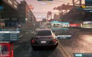 Геймплей для Need for Speed: Most Wanted (2005)